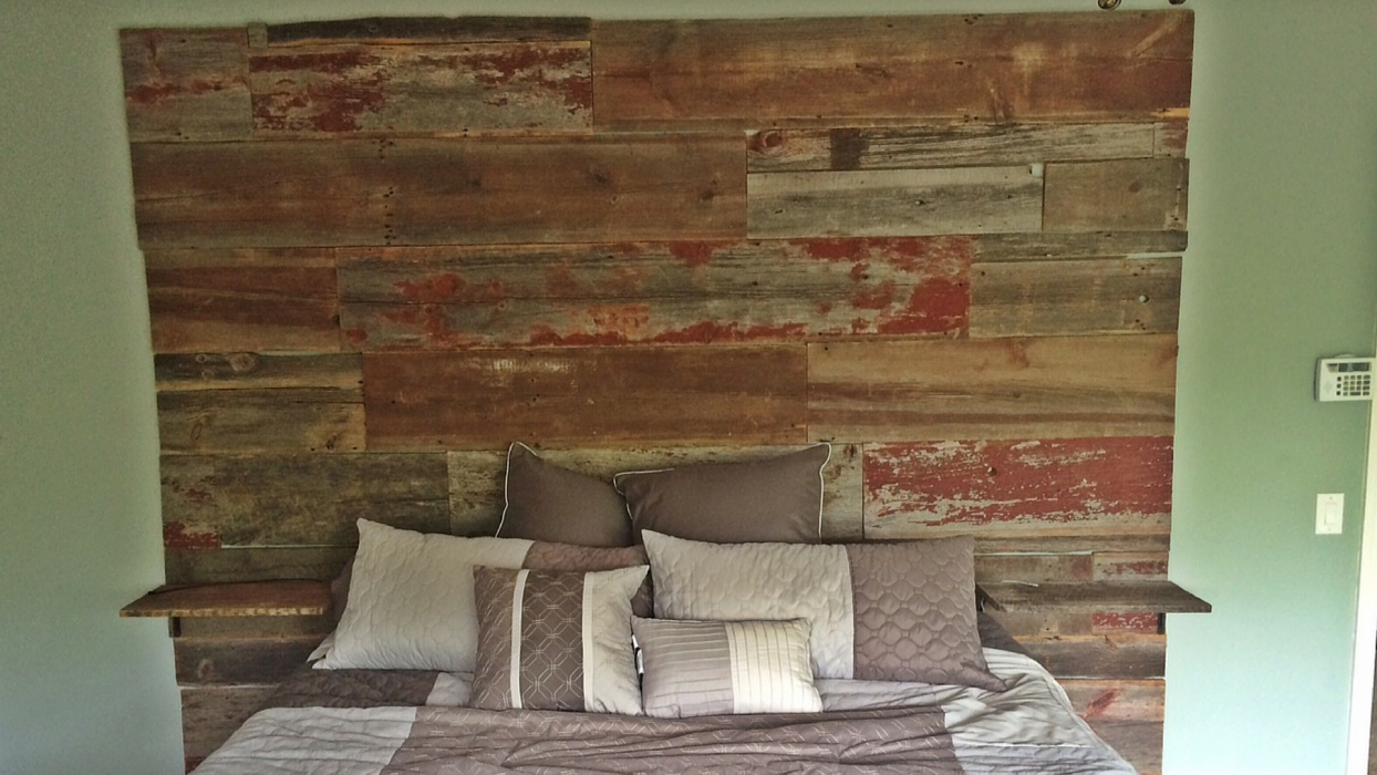 11 creative uses for reclaimed lumber j hoffman lumber for Reclaimed decking boards